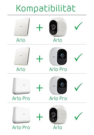 netgear arlo vms3230 100eus smart home test 2017. Black Bedroom Furniture Sets. Home Design Ideas