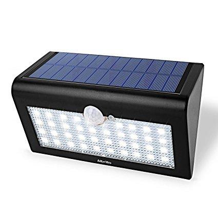 Albrillo Solarleuchte mit Bewegungsmelder