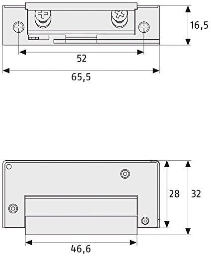 abus elektrischer t r ffner et75 test 2019. Black Bedroom Furniture Sets. Home Design Ideas