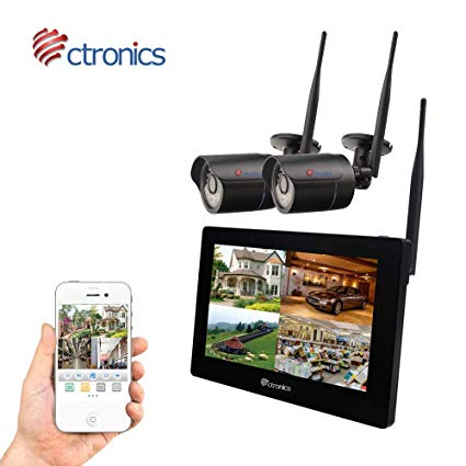 Ctronics Überwachungskamera Set
