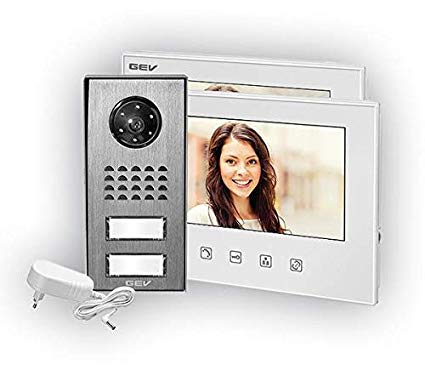 GEV 88351 2-Familienhaus Video-Türsprechanlage CVS