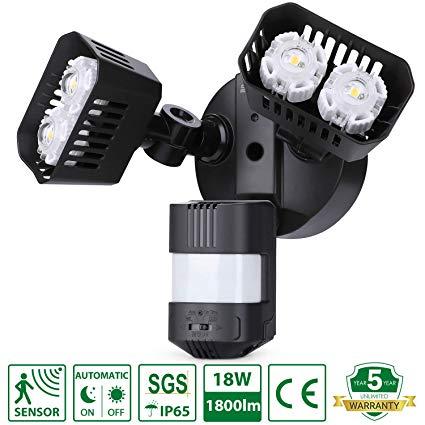 No Name SANSI LED Strahler mit Bewegungsmelder