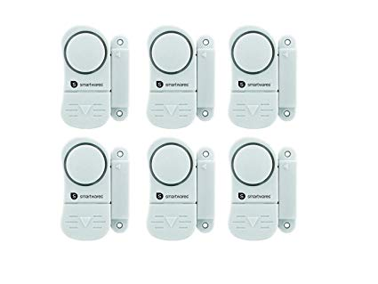 Smartwares 6er Set Alarm Mini Alarmanlage