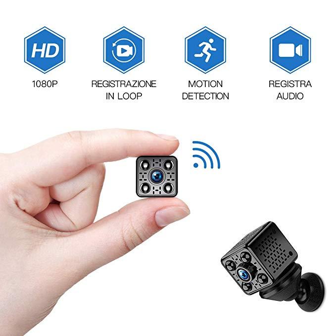 FREDI WLAN Wireless Mini Überwachungskamera