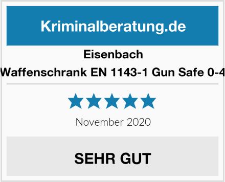Eisenbach Waffenschrank EN 1143-1 Gun Safe 0-4 Test