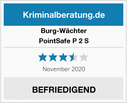 Burg-Wächter PointSafe P 2 S Test