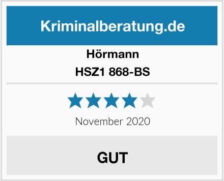 Hörmann HSZ1 868-BS Test