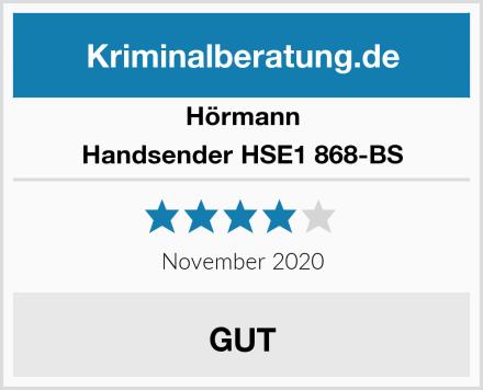 Hörmann Handsender HSE1 868-BS Test
