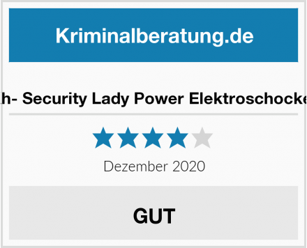 Kh- Security Lady Power Elektroschocker Test