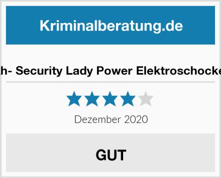Kh- Security Lady Power Elektroschocker Test