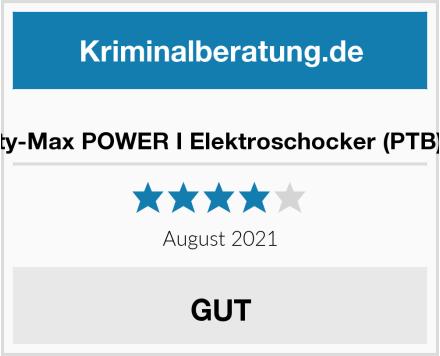 KH-Security-Max POWER I Elektroschocker (PTB) + Batterie Test