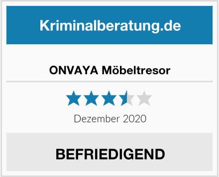 ONVAYA Möbeltresor Test
