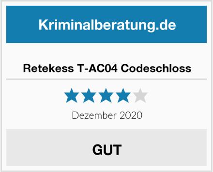 Retekess T-AC04 Codeschloss Test