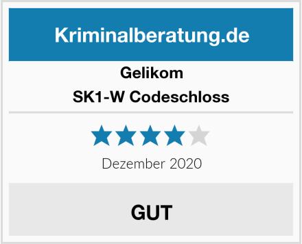 Gelikom SK1-W Codeschloss Test