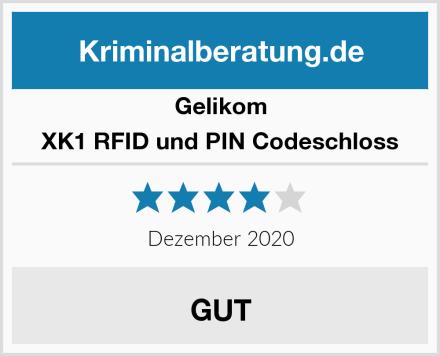 Gelikom XK1 RFID und PIN Codeschloss Test