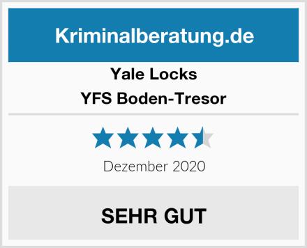Yale Locks YFS Boden-Tresor Test