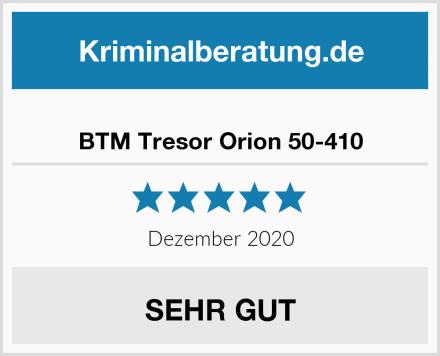 BTM Tresor Orion 50-410 Test