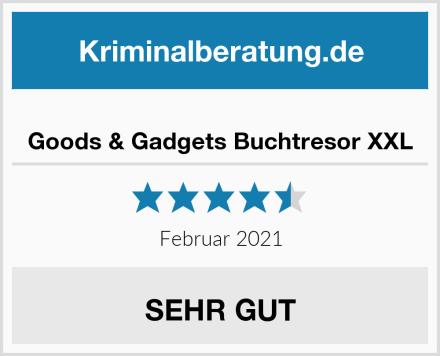 Goods & Gadgets Buchtresor XXL Test