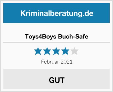 Toys4Boys Buch-Safe Test