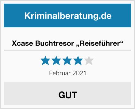 """Xcase Buchtresor """"Reiseführer"""" Test"""