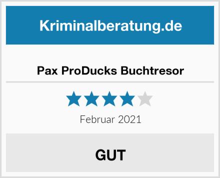 Pax ProDucks Buchtresor Test