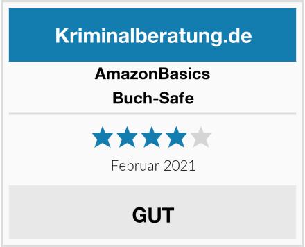 AmazonBasics Buch-Safe Test