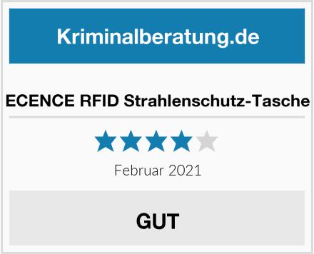 ECENCE RFID Strahlenschutz-Tasche Test