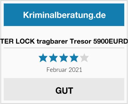 MASTER LOCK tragbarer Tresor 5900EURDWHT Test