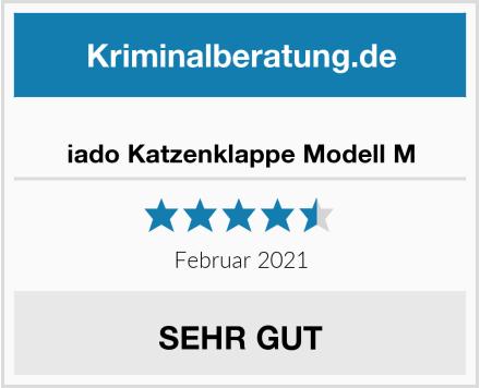 iado Katzenklappe Modell M Test