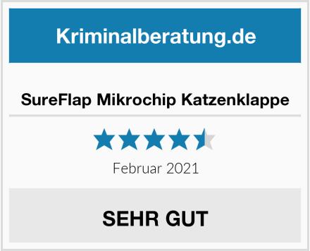 SureFlap Mikrochip Katzenklappe Test