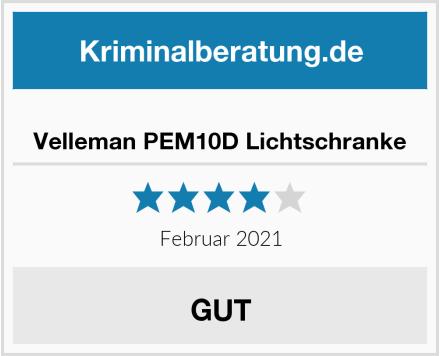 Velleman PEM10D Lichtschranke Test