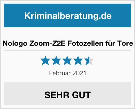 Nologo Zoom-Z2E Fotozellen für Tore Test