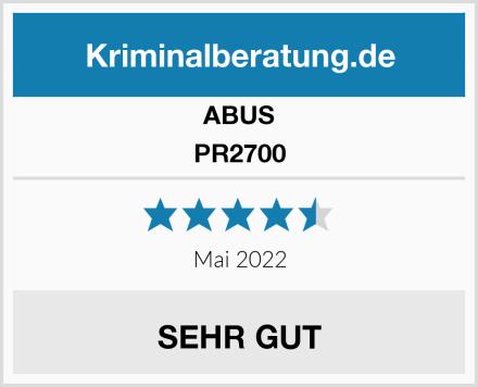 ABUS PR2700 Test