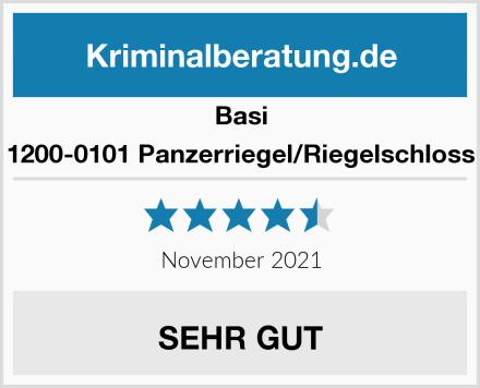 Basi 1200-0101 Panzerriegel/Riegelschloss Test