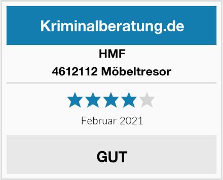 HMF 4612112 Möbeltresor Test