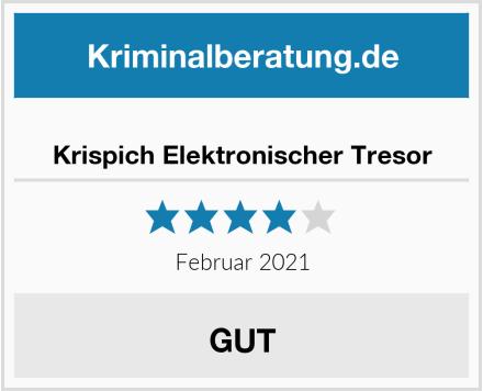 Krispich Elektronischer Tresor Test