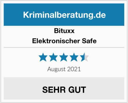Bittux Elektronischer Safe Test