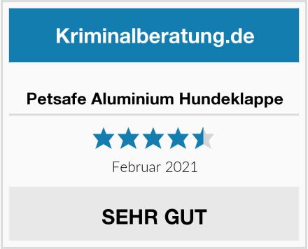Petsafe Aluminium Hundeklappe Test