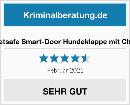Petsafe Smart-Door Hundeklappe mit Chip Test
