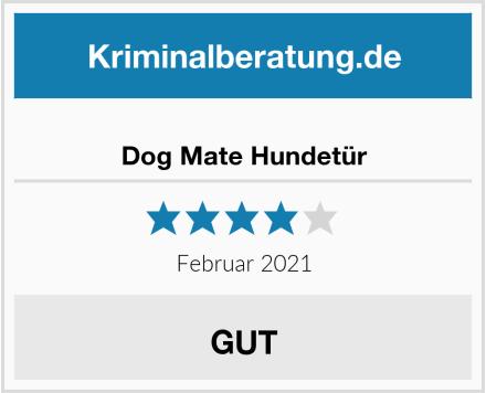 Dog Mate Hundetür Test