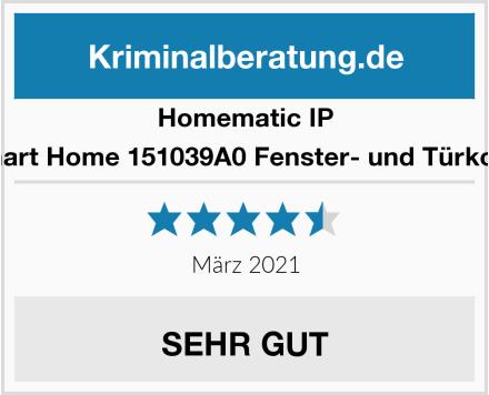 Homematic IP IP Smart Home 151039A0 Fenster- und Türkontakt Test
