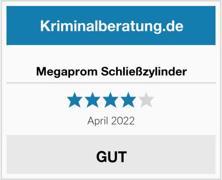 Megaprom Schließzylinder Test