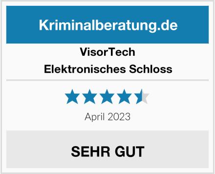 VisorTech Elektronisches Schloss Test