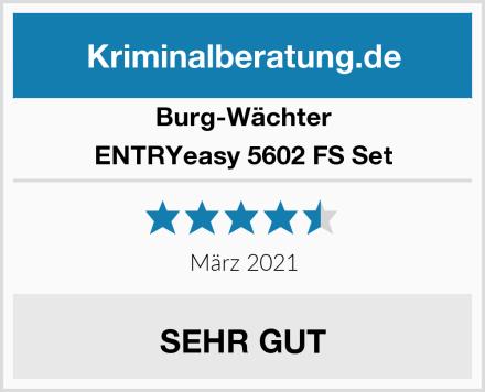 Burg-Wächter ENTRYeasy 5602 FS Set Test