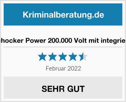 KH Elektroschocker Power 200.000 Volt mit integriertem CS-GAS Test
