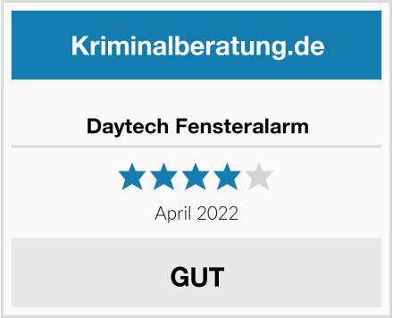 Daytech Fensteralarm Test