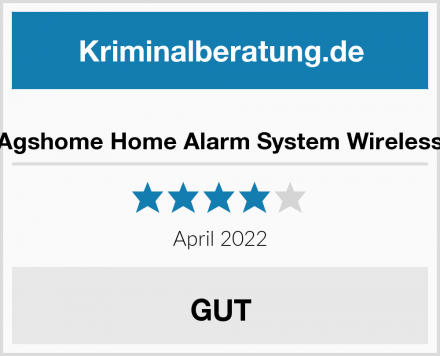 Agshome Home Alarm System Wireless Test