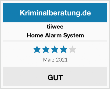 tiiwee Home Alarm System Test