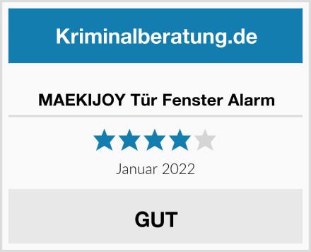 MAEKIJOY Tür Fenster Alarm Test