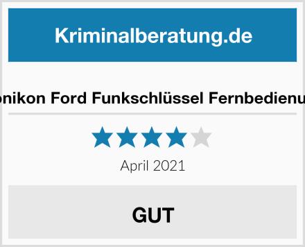 Konikon Ford Funkschlüssel Fernbedienung Test